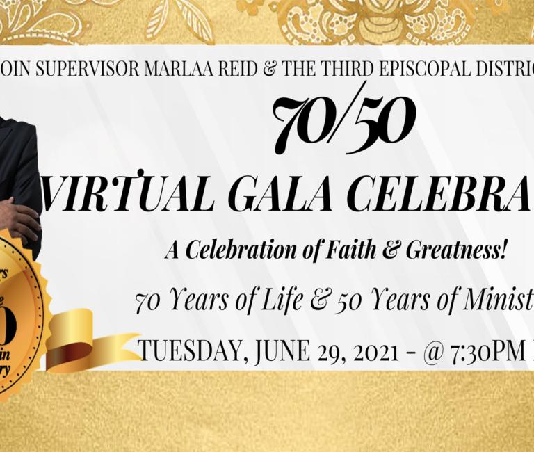 70/50 Virtual Gala Celebration